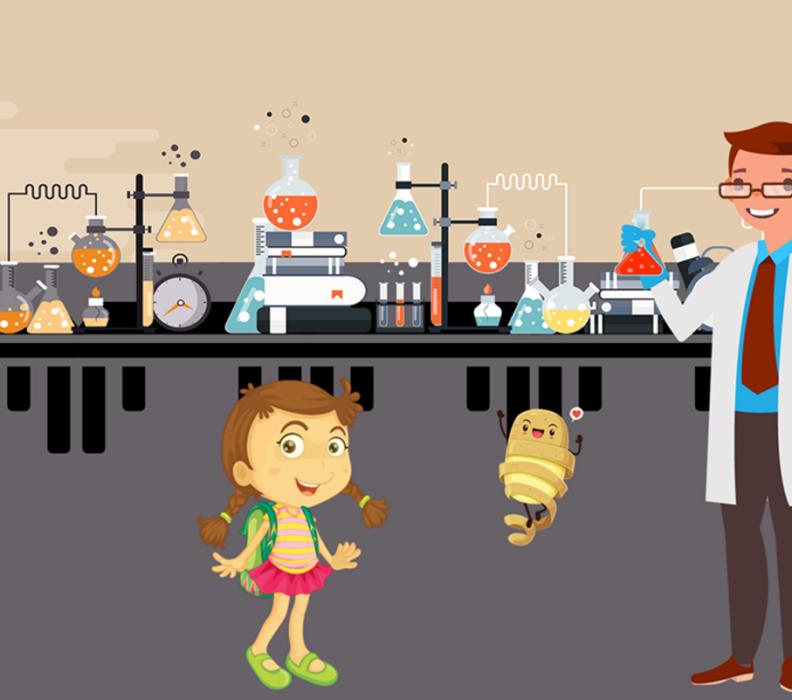Videoclip animata: come recuperare gli scarti dalla buccia di patata